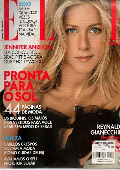 Revista Elle Brasil Reynaldo Gianecchini Ano 2001 (a-4100)
