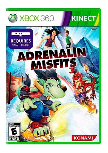 Adrenalin Misfits - Xbox 360 (kinect) - Original - Xuruguay
