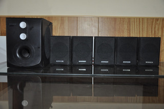 Home Theatre Ranser Ss-ra70 5.1 En Perfecto Estado.