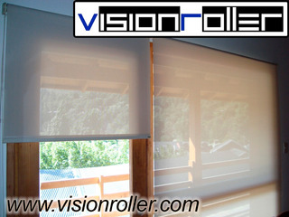 Cortinas Blackout Sun Screen Modernas Tipo Roller