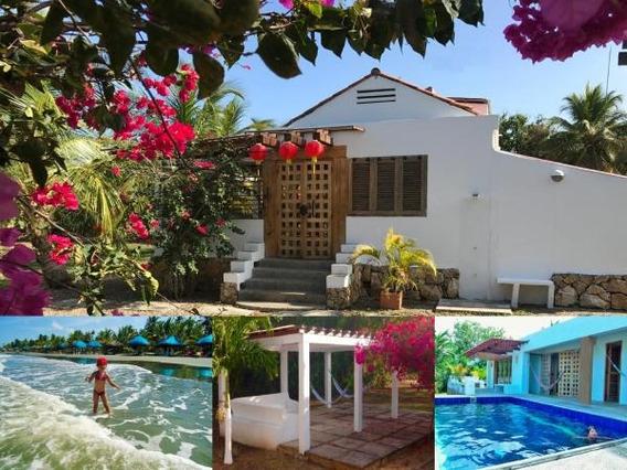 Casa De Playa Shangai, Piscina Y Kiosco Playero