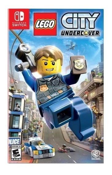 Lego City Undercover - Switch Lacrado