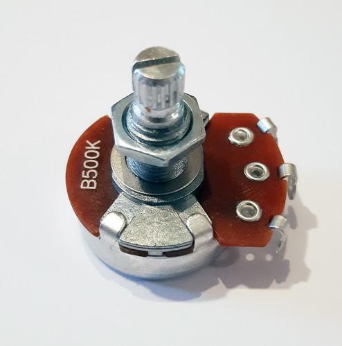 Potenciometro Alpha B 500k Grande Lineal Para Guitarra H65