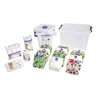Bambino Mio Pañal Textil Paquete Premium, Unisex