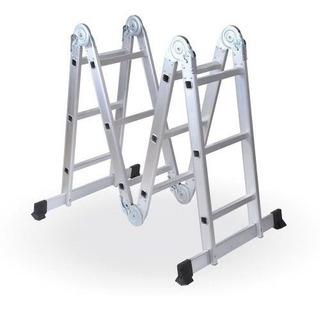 Escalera Multifuncion Alum Art Plegab 12 Esc 18 Cuotas S/int