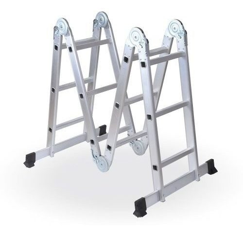 Escalera Multifuncion Alum Art Plegab 12 Esc 18 Cuotas S/int