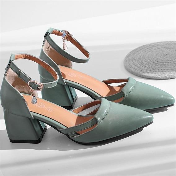 Sapato Feminino Asumer 01659 Importado Frete Grátis