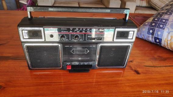 Rádio Antigo Toca Fitas General Eletric