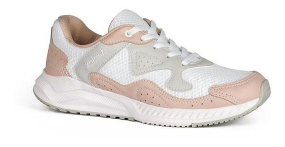 Tênis Dad Sneakers Kolosh Rosa Claro K8325
