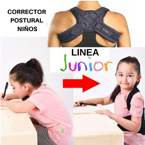 Chaleco Corrector De Espalda Niños Postura Agnovedades