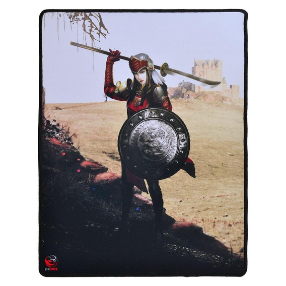 Mouse Pad Gamer Pcyes Rpg Valkyrie 40x50 Cm