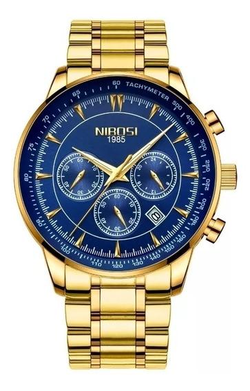 Relógio Nibosi De Luxo