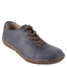 Zapato Londres Bruno Rossi Mujer Azul - S309
