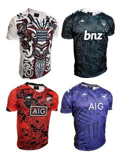 Camiseta Rugby Maori Nueva Zelanda Luxury