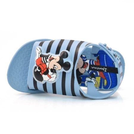 Sandalia Infantil Menino Love Disney 26111 Azul Ipanema