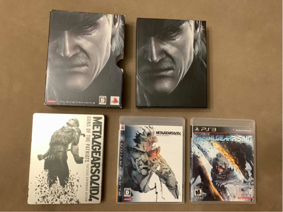 Metal Gear Guns Of The Patriots Limited Edition Steel Box