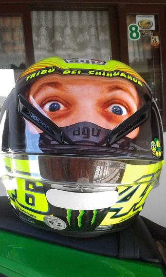 Capacete Motociclistas Agv Pista Test Rossi Montersvr46 Face
