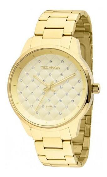 Relógio Feminino Technos Dourado 2035lxu/4d