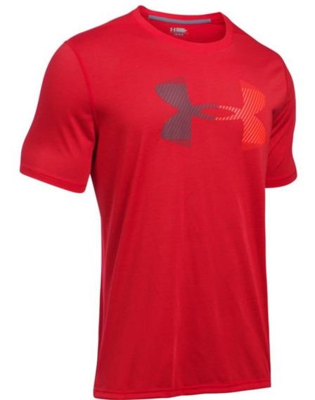 Playera Under Armour Threadborne Logo Para Hombre