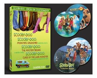 Scooby-doo Quadrilogia Filmes (4 Dvd