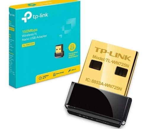 Adaptador Wireless Usb Tp Link Wn-725n 150mbps Nano