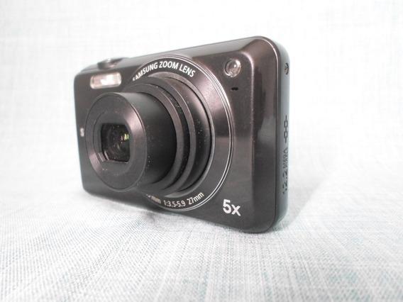 Câmera Máquina Digital Samsung Es68 Es 68 Preta - Usada