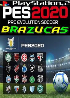 Pes 2020 Brazucas,jogos Ps2,atual Lançamento Setembro,