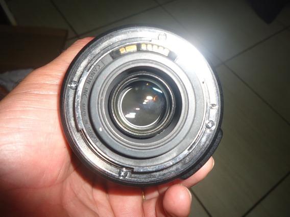 Lente Canon 18-135mm Funcionando Sem Quebrados Leia Anuncio