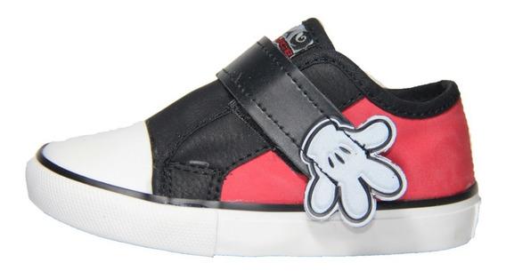 Zapatilla Infantil Couce Mickey Con Abrojo