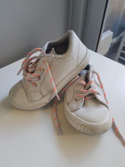Zapatillas Blancas Mimo Talle 24
