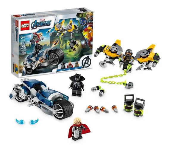 Lego Avengers Speeder Bike Attack De Marvel Juguete Nuevo