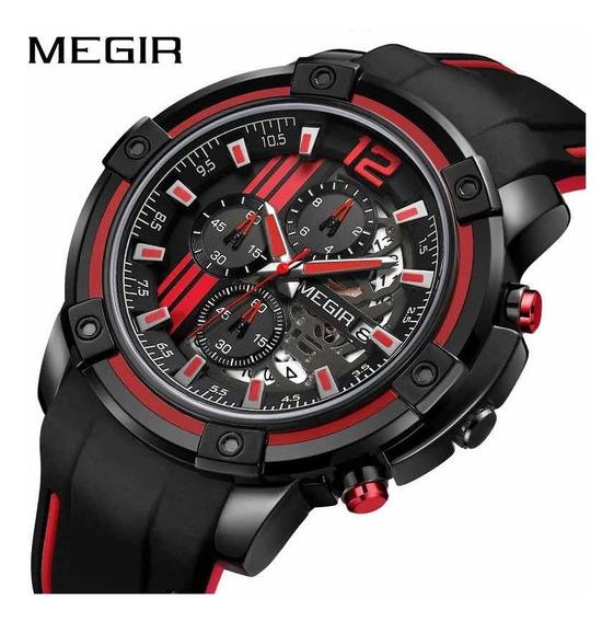 Relogio Megir 2097 Original Masculino