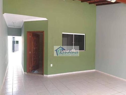Casa Com 3 Dormitórios À Venda, 143 M² Por R$ 435.000,00 - Jardim Do Valle Ii - Indaiatuba/sp - Ca0844