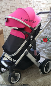 Comfort Baby Stroller Importado Rodas De Borracha Grandes