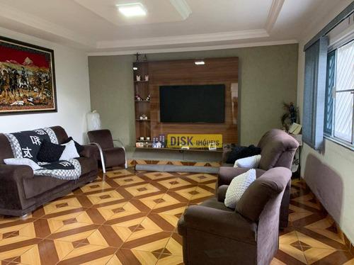 Casa Com 2 Dormitórios À Venda, 197 M² Por R$ 600.000 - Ferrazópolis - São Bernardo Do Campo/sp - Ca0356