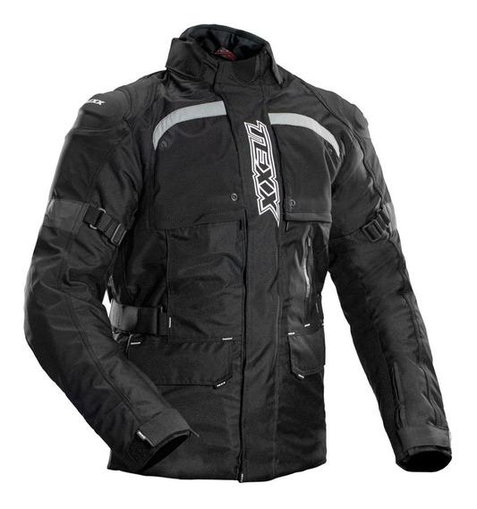 Jaqueta Motociclista Texx Air Bag Armor Parka Impermeável