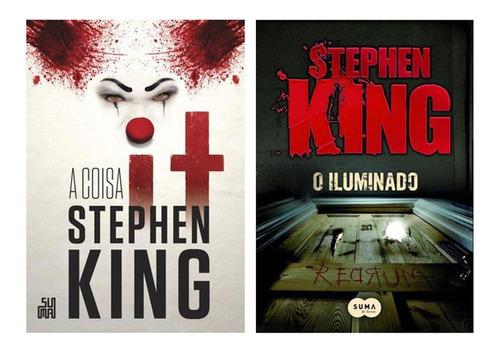 Livros It: A Coisa + O Iluminado - Stephen King