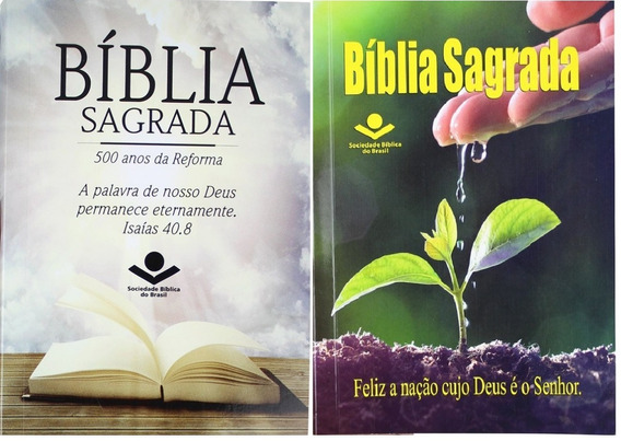 Bíblias Para Evangelismo Kit 2 Livros Sbb Frete 18 Reais