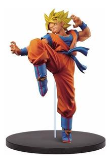Figura Goku Súper Sayayin Dragon Ball Z Son Goku Fesh 24cm