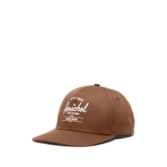 Gorra Herschel Whaler Cotton Saddle Brown