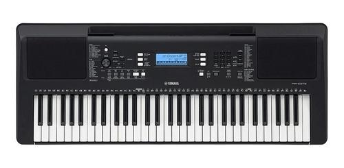 Imagen 1 de 4 de Teclado musical Yamaha PSR Series PSR-E373 61 teclas Negro