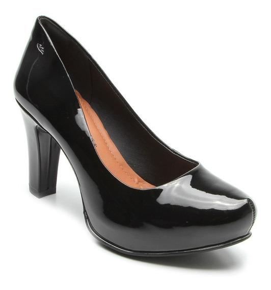Sapato Scarpin Dakota Meia Pata Verniz - Frete Grátis