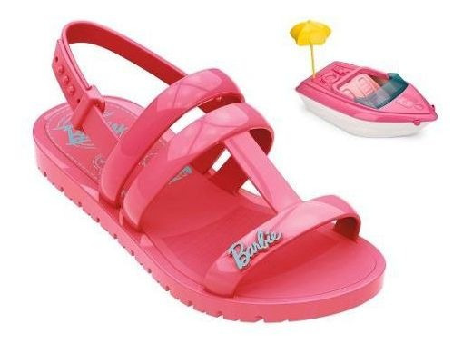 Sandália Barbie Boat Iate Barco Tam 23 Ao 34 Grendene Brinqu