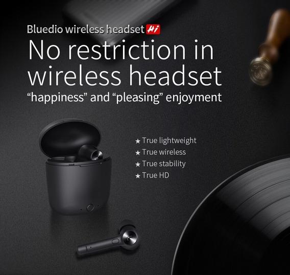Fone Bluetooth 5.0 Bluedio Hi Tws pronta Entrega