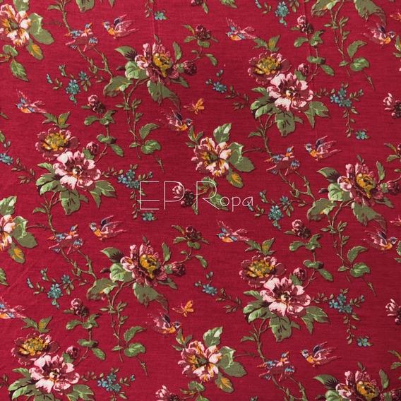 Sobretodo Kimono Largo Mujer Flecos Flores Moda Juvenil Slim