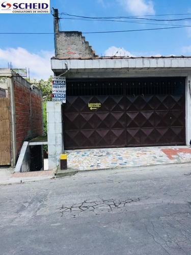 Venda De Um Terreno Com 3 Casas Em Parelheiros Para Renda - Mr63624