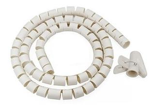 Tubo Organizador De Cables, Tipo Espiral, Blanco 400200