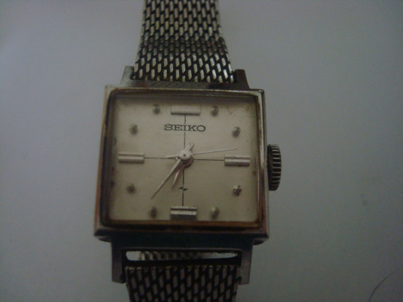 Relógio Pulso Seiko Feminino Antigo Corda Gostou Veja Todos