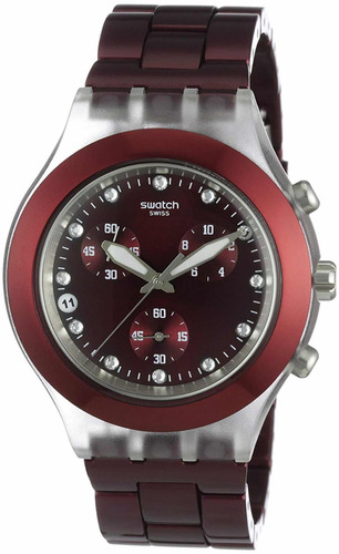 Relógio Swatch Full Blooded Burgundy Svck4054ag