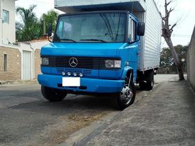 Mercedes-benz Mb 912 Baú Ano 91 Baú Muito Conservado